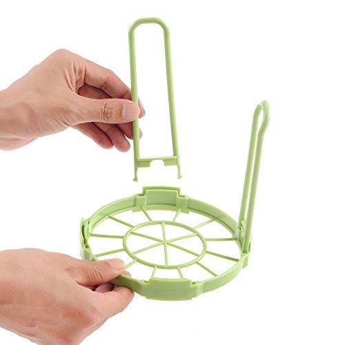 Étagères de rangement amovibles en plastique de restaurant de plat de cuvette de vaisselle de vaisselle de cuisine,Green