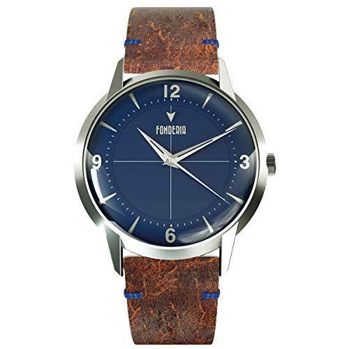 Fonderia The Professor II Classic P-6A015UBS - Reloj para hombre, estilo vintage