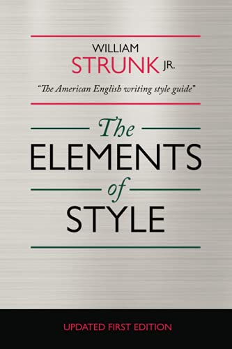Cover of The Elements of Style by William Strunk Jr.