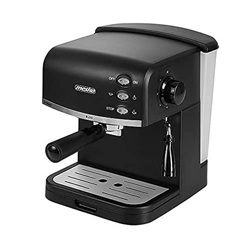 Espressomaschine | 1,5L Wassertank | 850 Watt |15 bar | Kaffeemaschine | Milchaufschäumer | Cappuccinomaschine | Siebträger Espressomaschine | Elektrische Espressomaschine | Edles Design, MS 4409