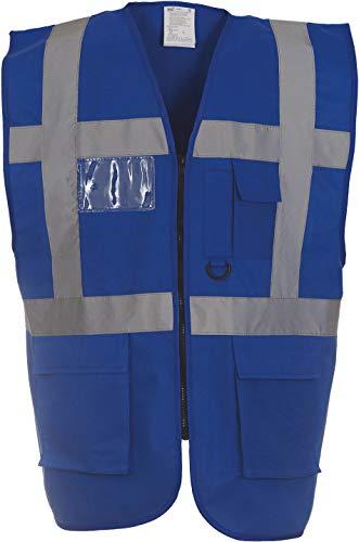 Yoko Veste de yk002/hvw801 Executive multifonction haute visibilité Gilet sans manches pour femme XXL bleu marine