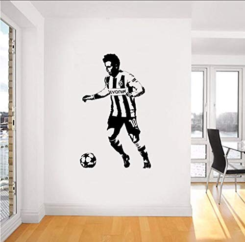 ykxykw Wall Art Giant Sticker Fotobehang Grafische Muur Kunst Duitsland Voetbal Voor Kinderen Kamers Jongens Living Mural 94 X 58 Cm