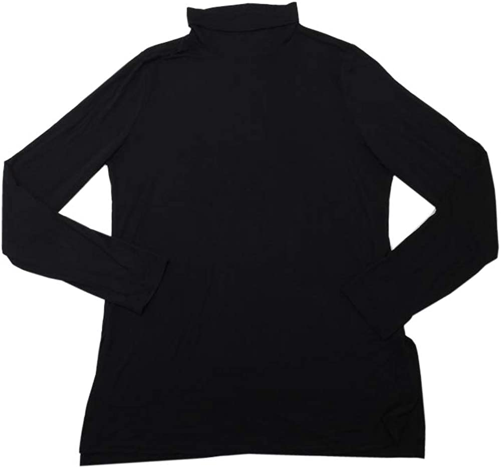 Active Life Womens Size X-Large Long Sleeve Turtle Neck Top, Black