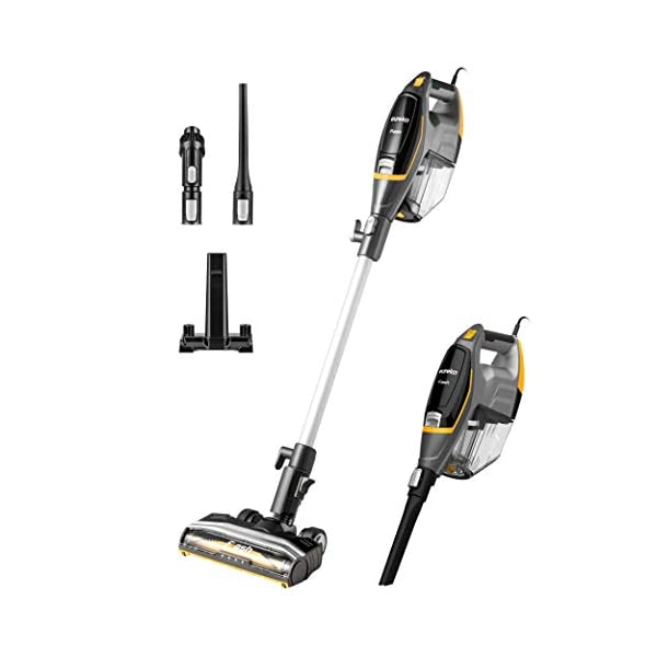 Eureka Flash Lightweight Stick Vacuum Cleaner, 15KPa Powerful Suction, 2 in 1 Corded...
