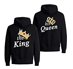 The King + His Queen Partnerlook - Geschenk zum Valentinstag