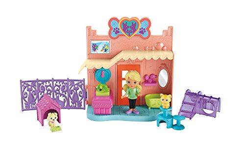 Fisher-Price – Dora et ses Amis – Le Centre d'Adoption d'Animaux – Mini Figurine + Décor