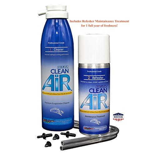 DWD2 Clean AIR Premium Automotive Foaming AC Evaporator Coil Cleaner & Refresher (Regular) Renew Your air Conditioner!