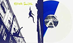 Elliott Smith - Exclusive Limited Edition Blue White Split Colored Vinyl LP (Only 750 Copies Pressed!)