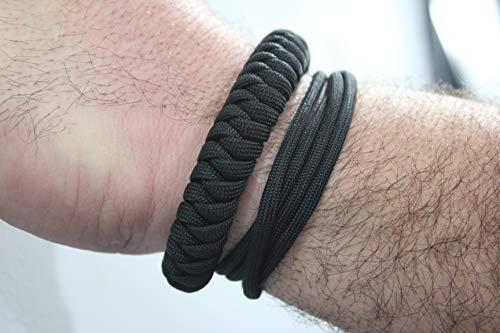 EDC Self Defense Bracelet Everyday Carry Survival Weapon Self Defense Tool Black Snake