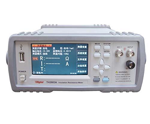 TH2683A Insulation Resistance Tester High Resistance Meter 1V-1000V
