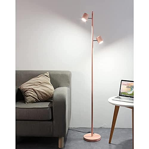 FYRMMD Lámpara de pie, luz de Lectura Moderna, luz LED de Poste Alto con Control Remoto e Interruptor táctil para el Dormitorio de la Sala de Estar (lámpara de pie)