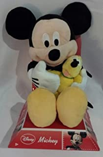 "Disney Mickey Mouse 12"" with Lil Friend Pluto Plush"