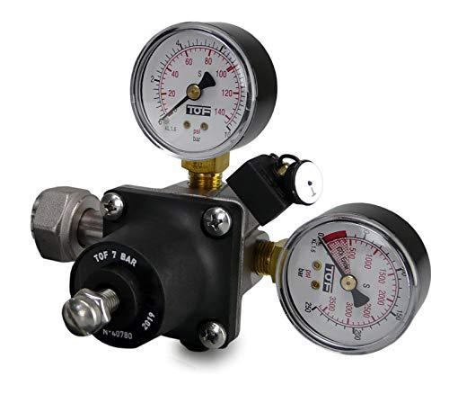 smardy CO2 Riduttore di pressione per bombole CO2 oltre i 2 kg
