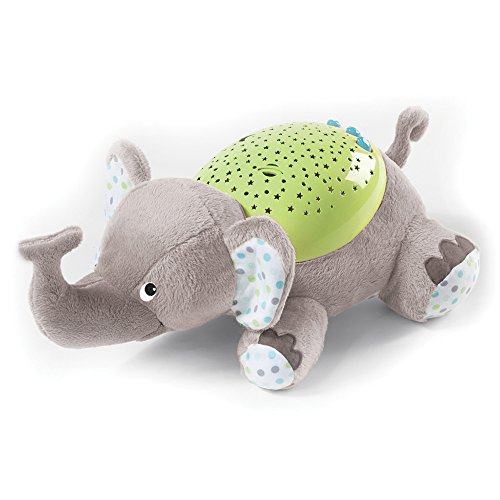 Summer Infant - Proyector infantil, diseño elefante, color gris (6436)