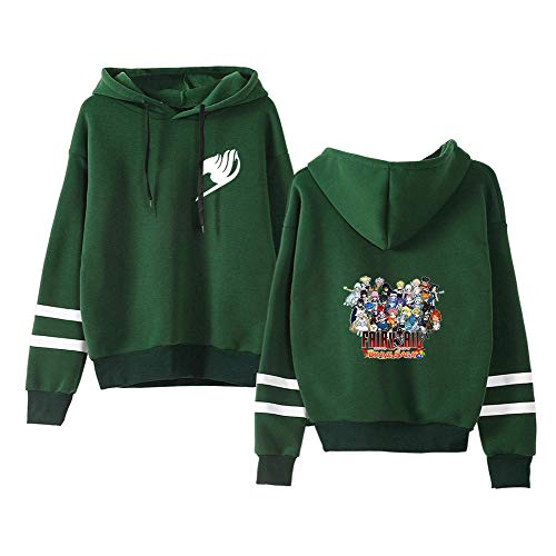 Aivosen Unisex Classico Fairy Tail Hoodie Girocollo Stampate Autunno Invernale Sweatshirt Manica Lunga Casual Pullover in Peluche