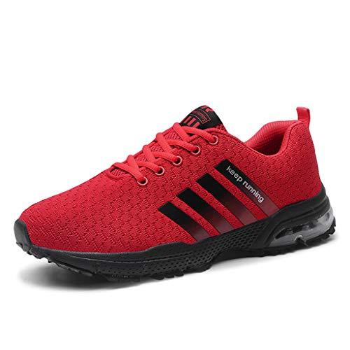 ZARLLE Calzado Deportivo para Hombre Zapatillas de Running para Hombre,Zapatos para Caminar,Calzado de Correr,Zapatos Deportivos,Sneakers Ligero