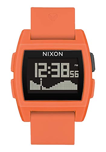 Nixon Base Tide Black Dial Silicone Strap Men's Watch A1104255400