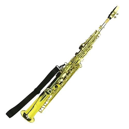 DIMAVERY SP-10 para saxofón Soprano Bb, dorado
