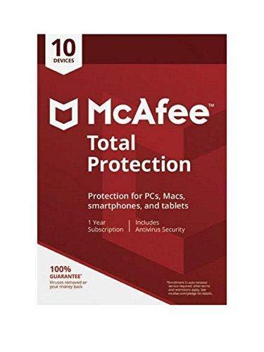 McAfee Komplettschutz für 10 Geräte