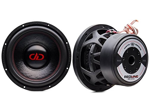Subwoofer DD 608 D4 20 cm 2x2Ω 1800 Watt Max sub auto spl Digital Designs Red Line Design