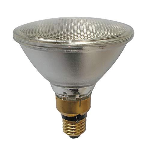 Par38 - Bombilla halógena reflectora (PAR38, E27, 220-240 V, intensidad regulable, 30°), color blanco cálido, E27 80.00W 230.00V