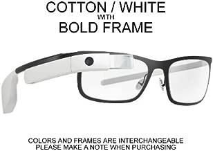 Google Glass Explorer Edition XE V2 Cotton White - Deluxe Bundle