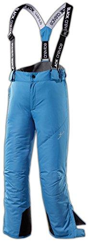 Black Crevice Skihose Pantalones de esquí, Unisex-Niño, Azul, 16 años (176 cm)