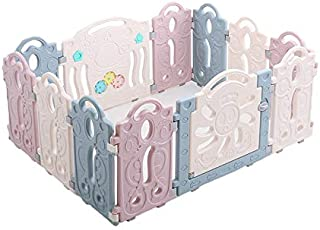 JXXDDQ Baby Playpen Kids Activity Centre Safety Play Yard, Upgraded Safety Lock, Infant & Toddlers Activity Center (Size : 122x159cm)