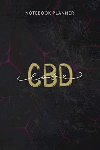 Notebook Planner Love CBD Cannabidiol...