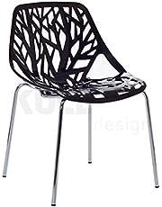 KullDesign.com Silla Ramas Negra. Inspirada en la diseñada por Ronan y Erwan Bouroullec.