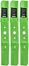 8TEN LawnRAZOR Medium-Lift Blade for MTD 54 Inch Deck Cub Cadet RZT 54 Troy Bilt 942-05056A 942-05056 3 Pack