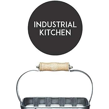 KitchenCraft Industrial Kitchen Vintage-Style Metal Toast Rack 14.5 x 11 x 7 cm