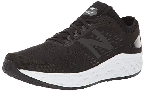 New Balance Men's Fresh Foam Vongo V4 Running Shoe, Black/Black Metallic, 9.5 W US