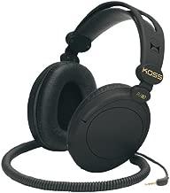 Koss R-80 Over Ear Headphones, Black