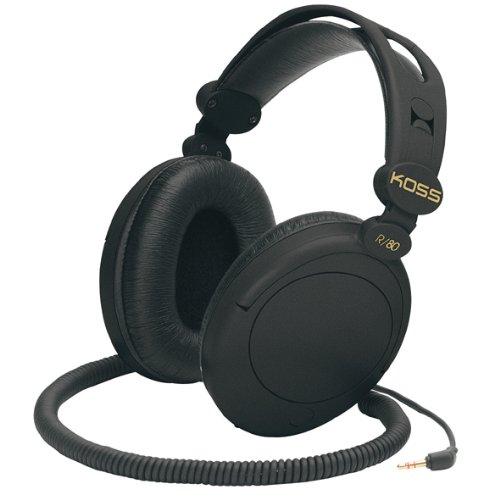 Koss R 80 Over Headphones Black