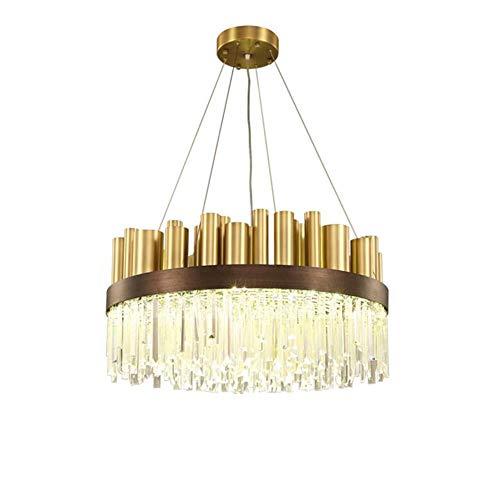 36-inch LED-kroonluchter, kristallen kroonluchter verlichting, plafondlamp, moderne kroonluchter lamp voor slaapkamer, hal, bar, keuken, badkamer
