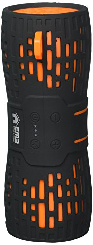 EMB ES900BT Water Resistant Super Loud Portable Bluetooth Speaker - Black On Orange
