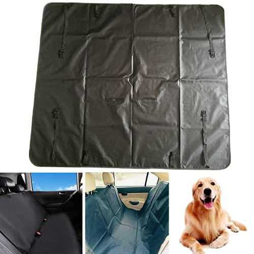 Autostoelhoezen voor honden, bescherming van de achterbank voor honden in de auto, bescherming van de achterbank voor honden, waterdicht, hangmat voor honden