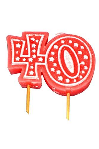 Aptafetes - Bougie anniversaire 40