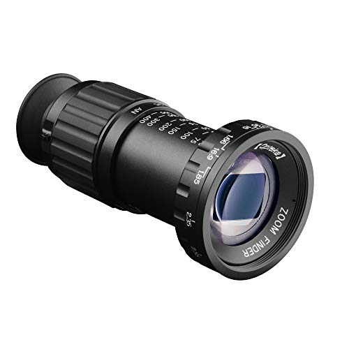 Opteka 11x Zoom Professional Micro Director's Viewfinder with HD Multicoated Glass, All Metal Body and Click Stops