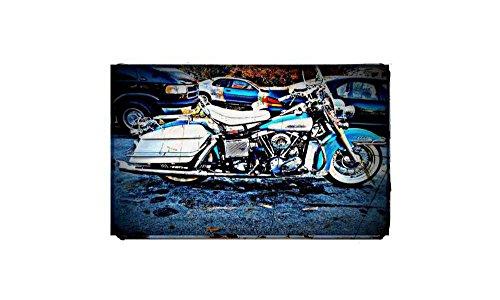 1966Harley Davidson Electra Glide bicicleta motocicleta impresión de fotos A4retro vintage años
