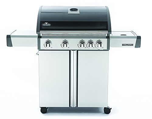 Napoleon T495SBPK Triumph Propane Grill with 4 Burners, Black and Stainless Steel a Grills Products Propane Service with