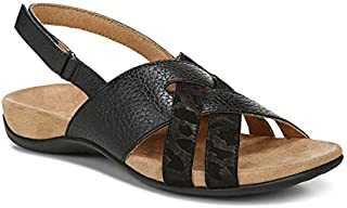 Vionic Women's Rest Eira Backstrap Sandal - Ladies Sandals with Concealed Orthotic Arch Support