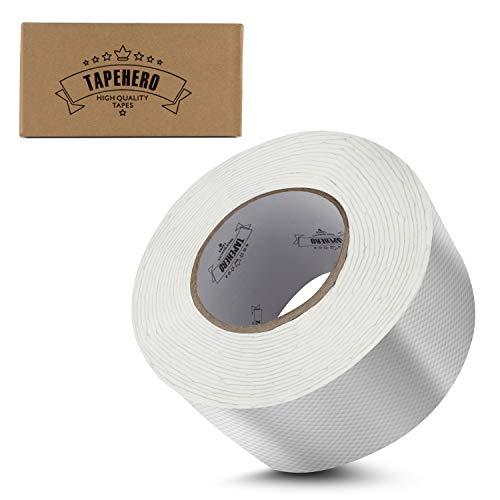 TAPE HERO® - Professionelles Butylband 7,5m(L) 75mm(B) - Wasserdichtes Klebeband zum Abdichten und Befestigen mit 2mm Materialdicke für In- und Outdoor Bereich | aluminium beschichtet