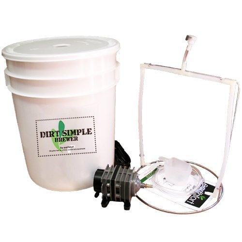 Dirt Simple 5-gallon Compost Tea Brewer