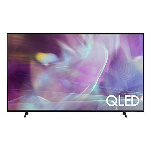 Samsung QLED 4K 2021 50Q60A - Smart TV de 50' con Resolución 4K UHD, Procesador 4K, Quantum HDR10+, Motion Xcelerator, OTS Lite y Alexa Integrada