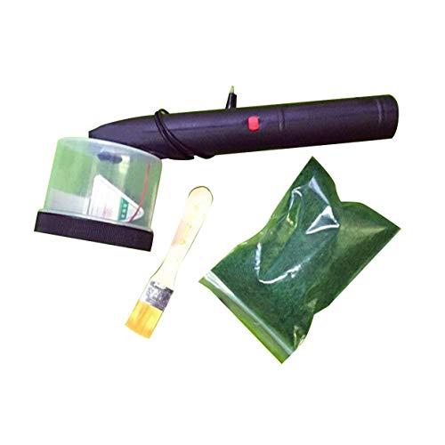 MXECO Konstruktion Sandtisch Modell Werkzeug Elektrostatisches Gras Pflanzgefäß Handwerk Flockmaschine Maschinenversion (Schwarz)