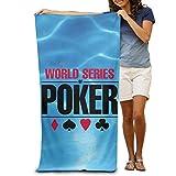 xcvgcxcvasda World Series of Poker WSOP Logo Póster Piscina Toalla de Playa 31'x 51'...