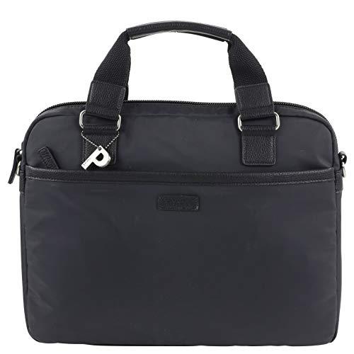 Picard Unisex Pore Laptop Tasche, SCHWARZ, 40x28x10