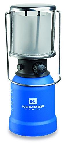 Kemper Lampe GAZ ALLUMAGE PIEZO H 27 cm, Bleu, 27x10cm